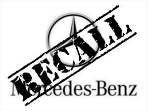 Recall de Mercedes-Benz a 2,500 vehículos en Estados Unidos