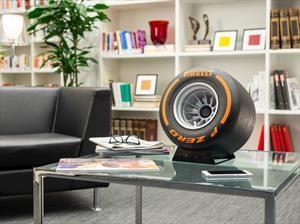 iXOOST y Pirelli Design lanzan parlante premium con forma de neumático de F1