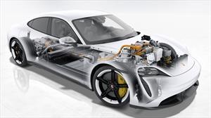 ¿Por qué fue necesario desarrollar un sistema eléctrico de 800 volts en el Porsche Taycan 2020?