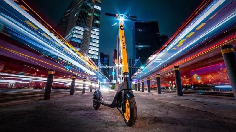 Scooter Renault llega a México, una nueva opción de movilidad sustentable
