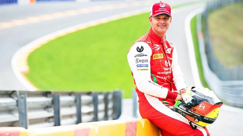 El hijo de Michael Schumacher debutará oficialmente al mando de un F1