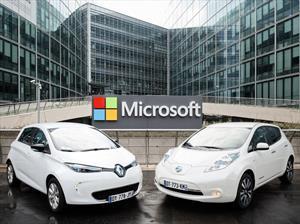 Alianza Renault-Nissan y Microsoft se asocian