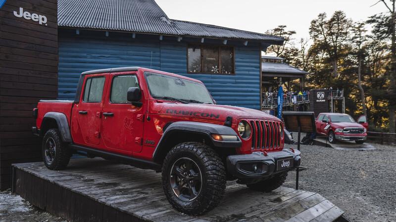 Jeep y RAM se presentan en Villa La Angostura