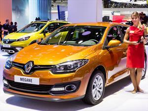 Renault Mégane 2014 presenta rediseño menor