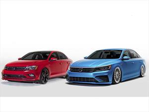 Volkswagen presenta coloridas modificaciones para su gama de productos