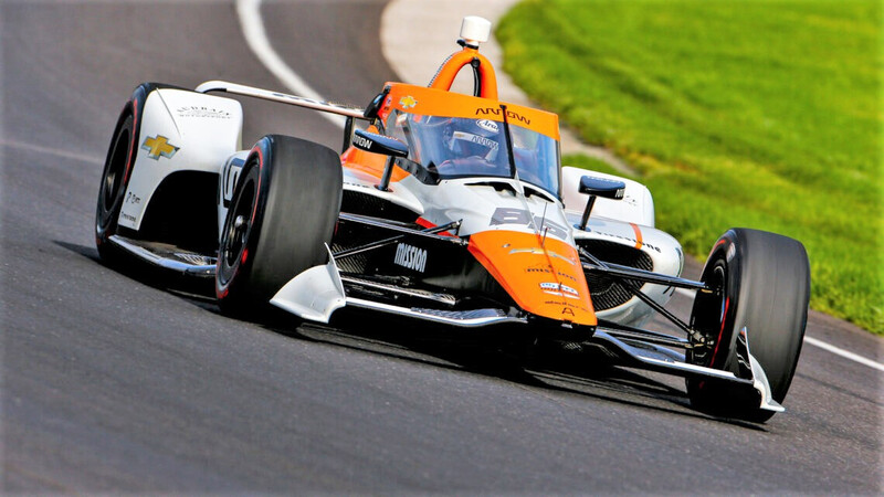 Juan Pablo Montoya se probó para las 500 Millas de Indianápolis