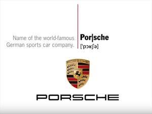 """Video: Así se pronuncia correctamente """"Porsche"""""""