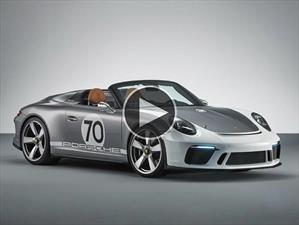 Porsche 911 Speedster Concept, un puente hacia el pasado