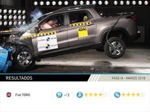 Cuatro estrellas para la FIAT Toro en las pruebas Latin NCAP