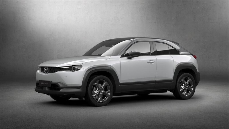 Mazda MX-30 llegará al continente americano, con una variante eléctrica y otra híbrida enchufable