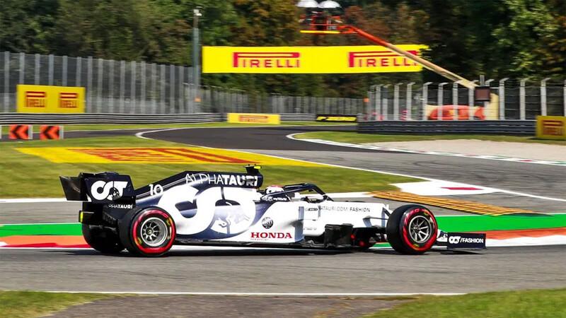 F1 2020: golpe de autoridad de Pierre Gasly en Monza