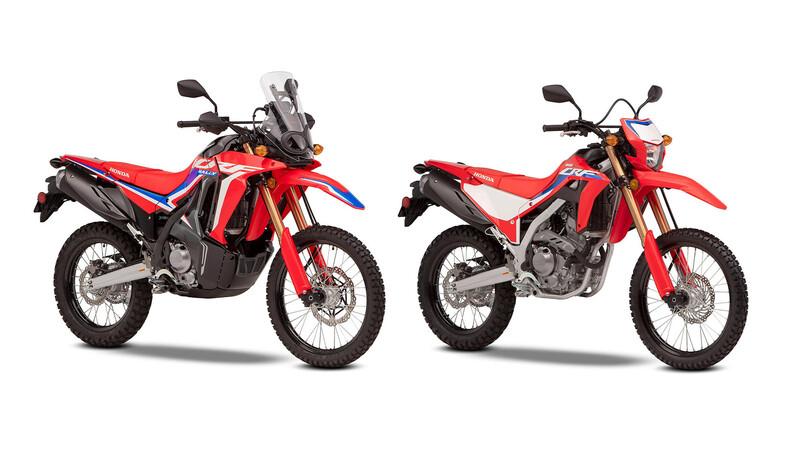 Honda presenta en Europa sus nuevas CRF300L y CRF300 Rally 2021