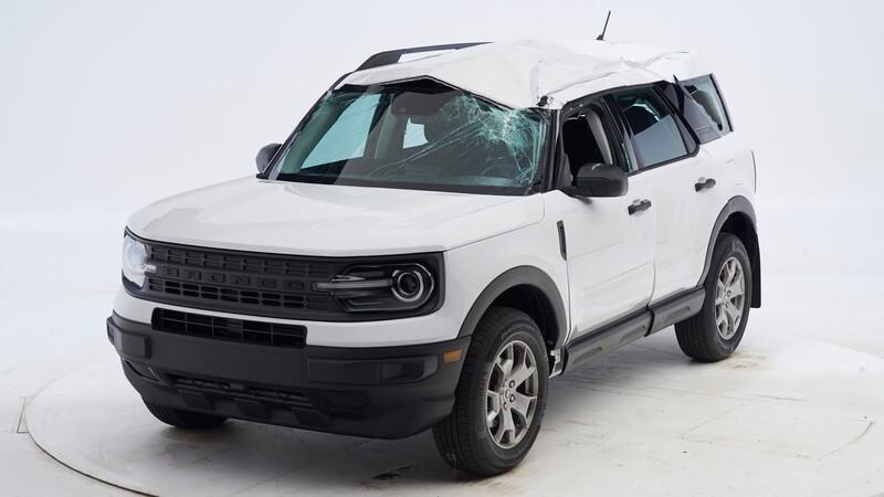 Ford Bronco Sport se destaca en los crash test del IIHS