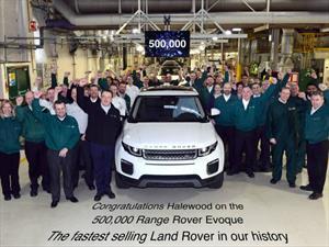 Land Rover produce la unidad 500,000 del Range Rover Evoque