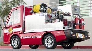Minicamión de bomberos, ideal para urbes congestionadas