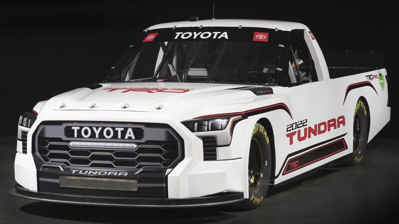 Toyota Tundra TRD Pro lista para el campeonato estadounidense NASCAR 2022