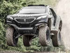 Video: La primera prueba del DKR Peugeot 2008 para el Dakar