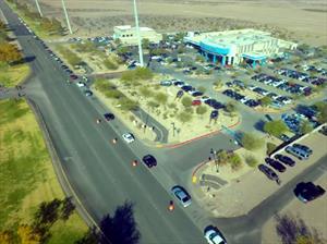 Nuevo récord Guinness del desfile de autos Hyundai más largo del mundo