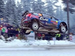 Nuevo récord de salto en el WRC