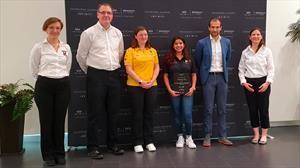 Talento femenino gana el Infiniti Engineering Academy 2019