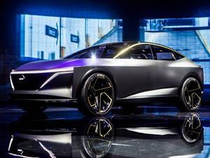 Nissan IMs Concept, el sedán se hace eléctrico y elevado
