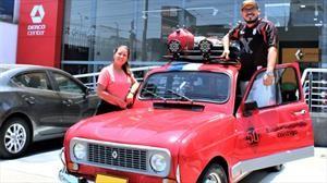Una pareja recorrerá toda Sudamericana en un clásico Renault 4
