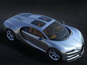 Bugatti Chiron, ahora con techo panorámico