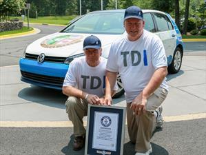Volkswagen Golf TDI Clean Diesel impone récord de consumo en Estados Unidos