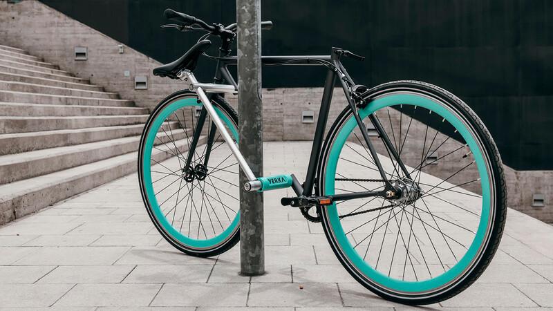 Conoce la bicicleta antirrobo, cuenta con su propio candado de seguridad