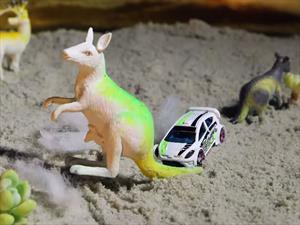 Beachkhana 1.0 con un Ford Fiesta de juguete