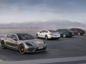 Porsche Panamera V6 y Executive 2017 debutan