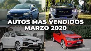 Los autos más vendidos de Argentina en marzo 2020