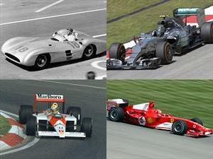 Los 10 mejores autos de la historia de la Fórmula 1