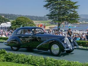 Este Alfa Romeo 8C 1937 es el Best Of Show del Pebble Beach Concours d'Elegance 2018
