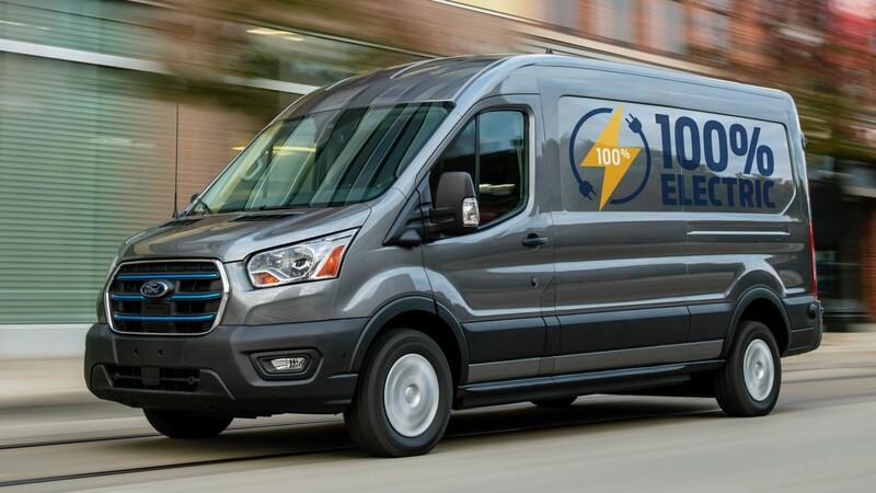 Ford E-Transit 2022, la multifacética van, ahora tiene un versión eléctrica