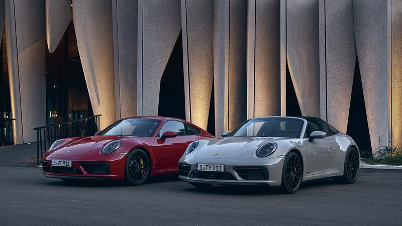 Porsche anuncia a los nuevos 911 GTS 2022