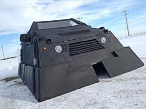 Un tanque caza tornados de Ford
