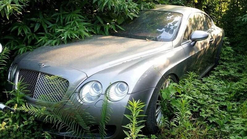 Los súper autos que se pueden encontrar en los corralones de China