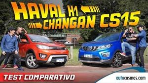Test: Comparativa Changan CS15 Vs Haval H1