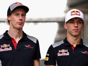F1 2018: Toro Rosso confirmó sus dos pilotos