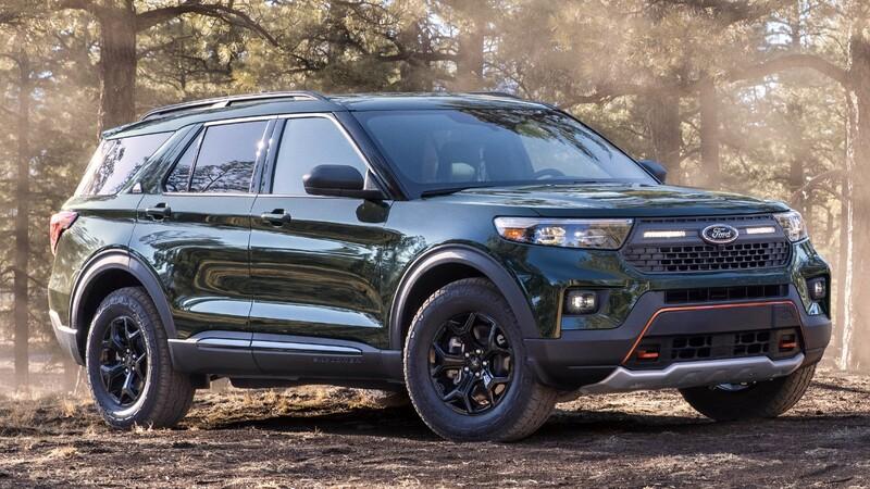 Ford Explorer Timberline 2021: el Explorer con más capacidades para el off-road