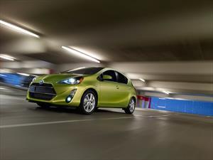 Toyota Prius C Hybrid recibe facelift