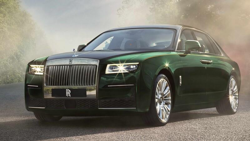 Rolls-Royce Ghost Extended 2021: espacio y confort a todo lujo