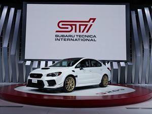 Subaru WRX STi S209 se presenta