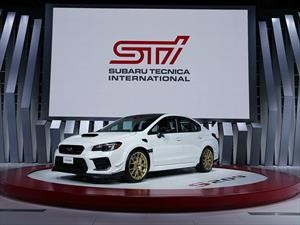 Subaru WRX STi S209 arroja más de 340 hp