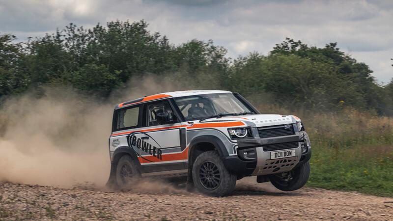 El Land Rover Defender tendrá su propio campeonato monomarca de rally