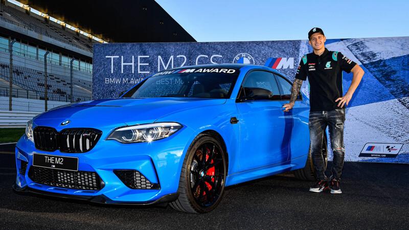 MotoGP 2020: BMW M2 CS, el premio consuelo de Quartararo