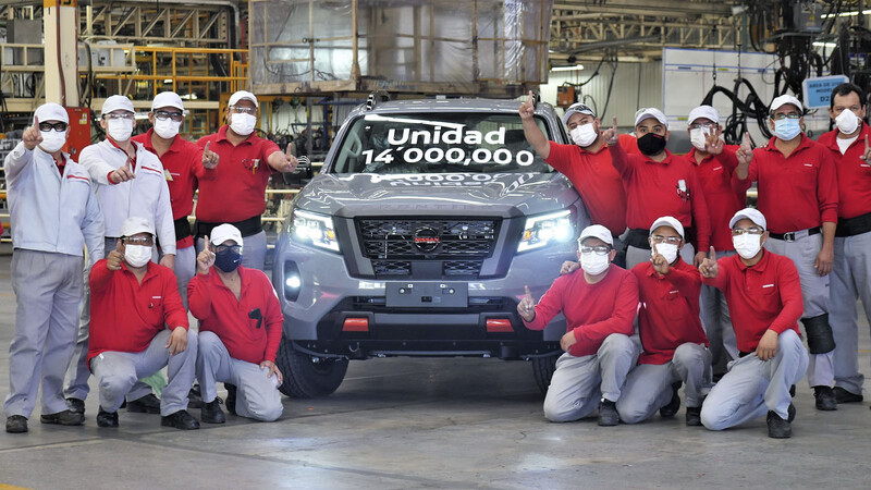 Nissan celebra 14 millones de unidades producidas en México