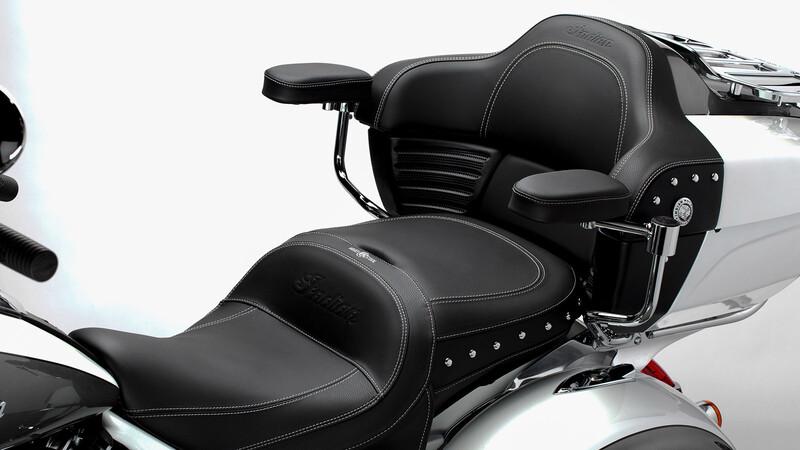 Indian innova con su sistema de climatización para motos