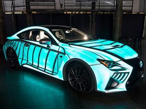 Este Lexus brilla al ritmo del corazón